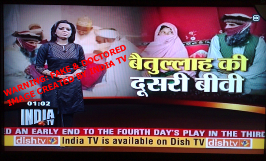 India TV Fake Image