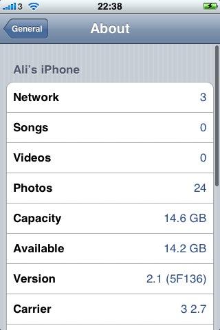iPhone OS 2.1 (5F136)