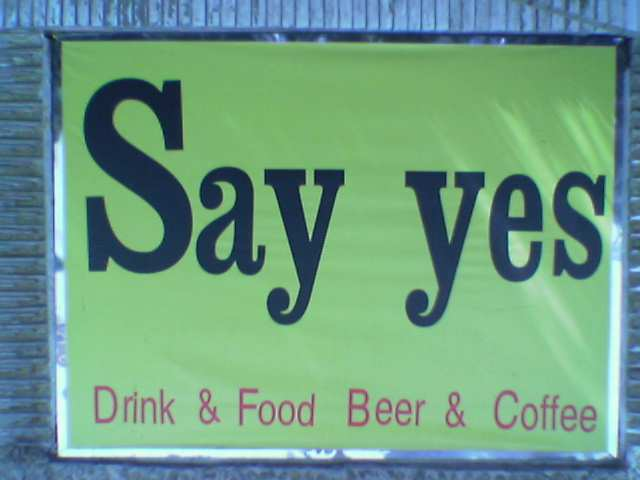 Say Yes to Beer!
