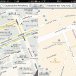Apple Maps China vs Hong Kong Comparison Image 2/5