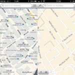 Apple Maps China vs Hong Kong Comparison Image 3/5